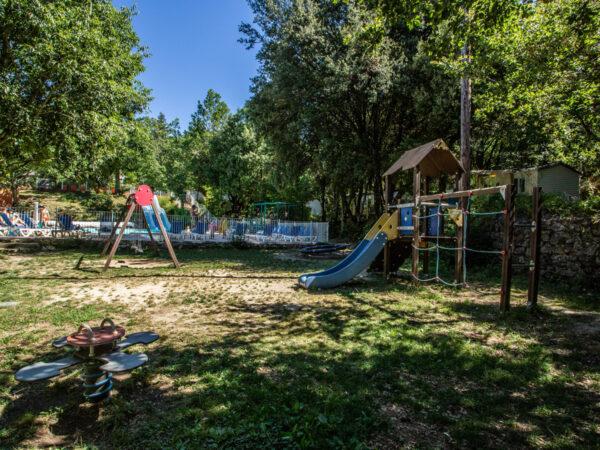 Speeltuin van de camping