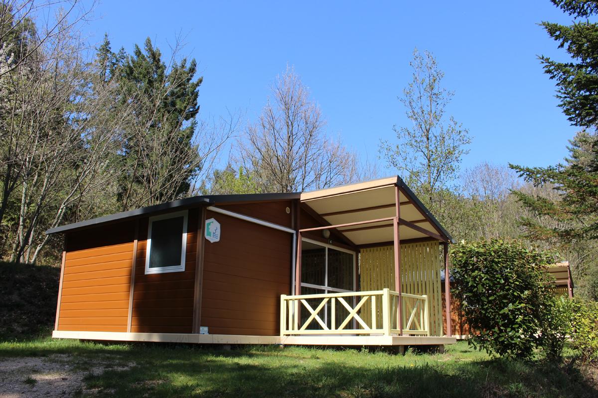 Chalet Campingplatz Ardèche   3-Sterne-Campingplatz La Marette